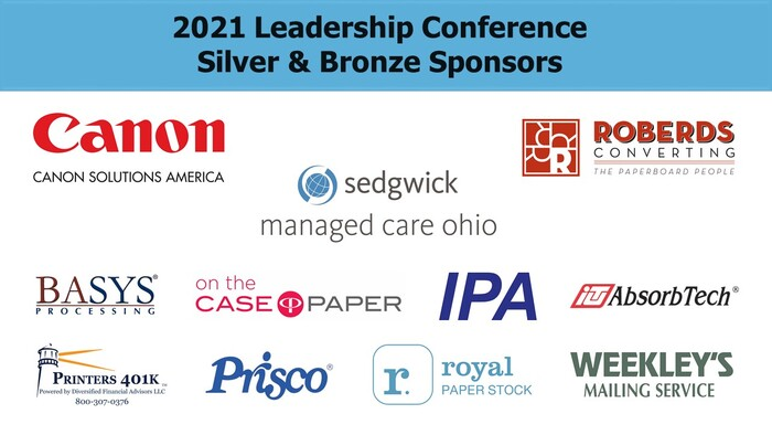 2021 Conference Silver and Bronze Sponsors