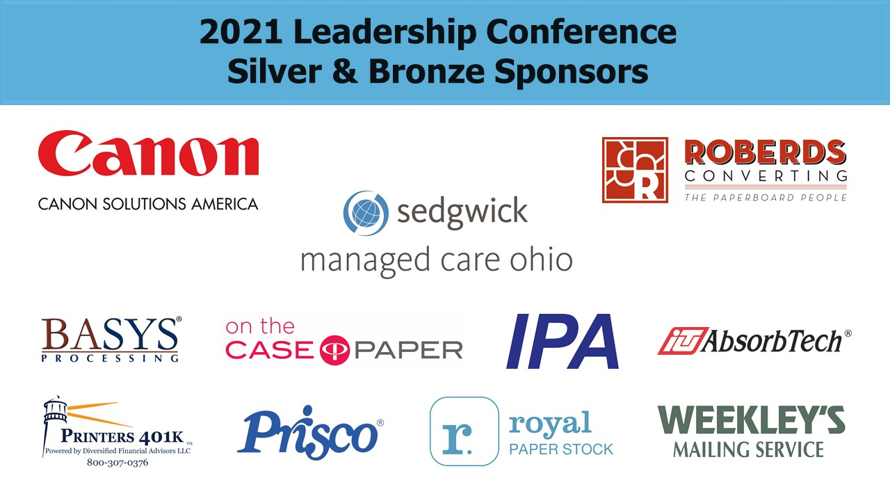 2021 Conference - Silver and Bronze Sponsors